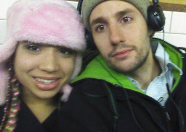 Jessica Fingers, of Monticello, N.Y., a Columbia College student on leave, was found dead in one of the University's dorms on March 31, 2013. She's pictured here with Peter Russell, a man whom she said she was in a relationship with.