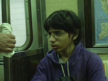 Jesus Sanchez-Valez plays Ricky, a boy who gets lost on the A and C trains of the subway in the days leading up to Hurricane Sandy.