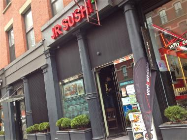 A fire broke out at JR Sushi at 3:11 a.m., on Monday. No one was harmed, and the restaurant suffered little damage.
