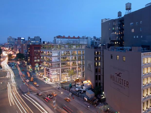 LargaVista Companies and the architecture firm COOKFOX unveiled renderings at a community meeting April 1, 2013.