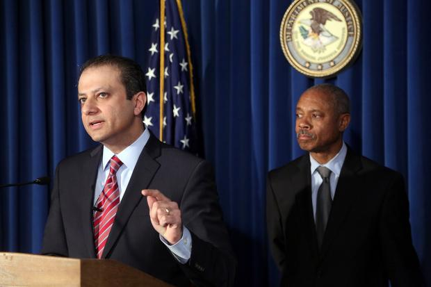 U.S. Attorney Preet Bharara announced the arrest of Bronx Assemblyman Eric Stevenson as part of a new corruption scandal.