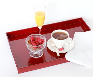 Serve your mogul mom breakfast in bed on a beautiful tray from William Wayne, where you can reliably find wonderful gifts for the home.
