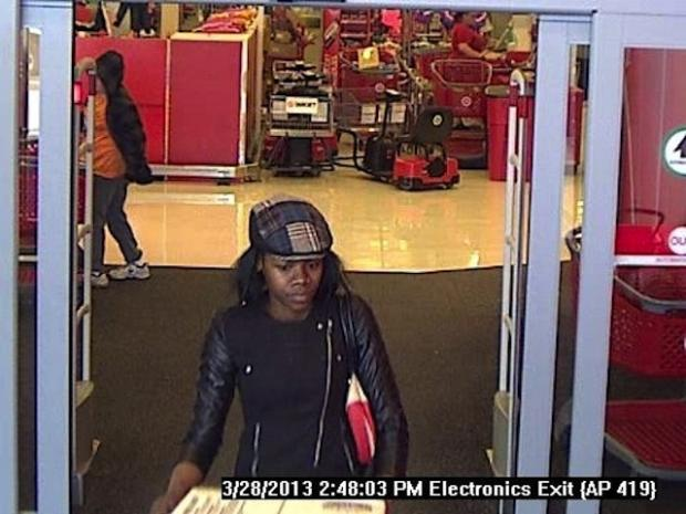 Police are looking for three women suspected from stealing electronics from Target in Staten Island.