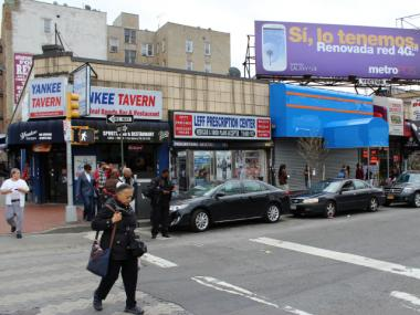 "The StubHub storefront at 68 E. 161st St. falls within a 1,500-foot ""no-scalping zone"" around Yankee Stadium."