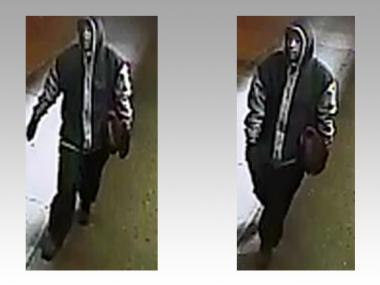 The burglary suspect stole about $2,000 from two Bronxwood Avenue shops on March 30, cops said.