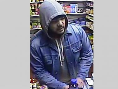 Cops suspect this man is responsible for four different robberies from Feb. 13 through March 11, 2013.