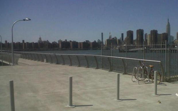 The East River pier opened this week, the Open Space Alliance announced.