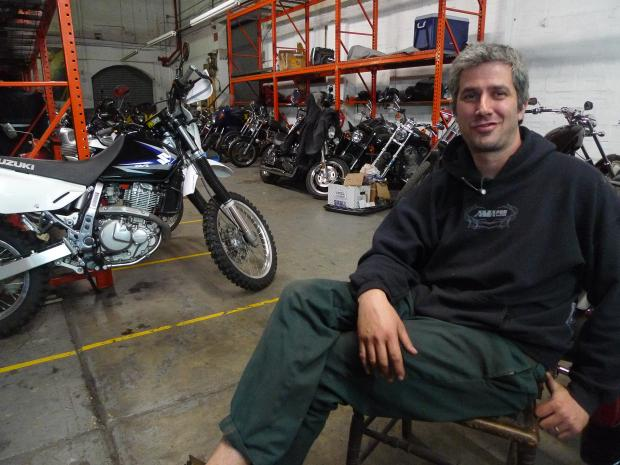Vax Moto has to leave its Third Avenue storage garage and repair shop because the building has been sold, owner Justin Walters said.