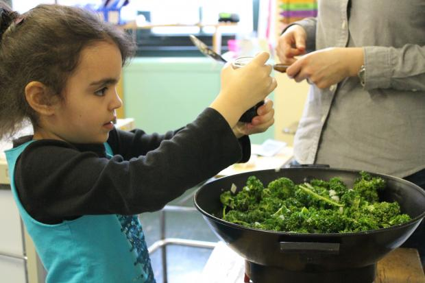 Veggiecation, first introduced at Whole Foods to teach kids to healthy eating, has expanded to schools.