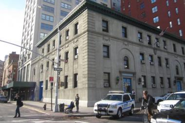 The 1st Precinct in TriBeCa.