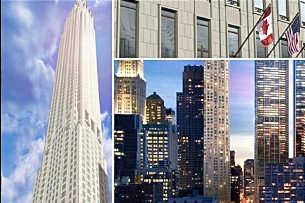 The WTC developer has secured funding for his $950 million TriBeCa high-rise.