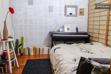 An apartment rental on Airbnb in Jackson Heights. A judge ruled that short-term rentals violate city law.