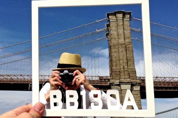 The Brooklyn Bridge is turning 130-years-old and one artist is attempting to show the bridge in 130 different ways.