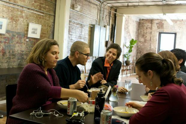 Work alongside other full-time freelancers in Brooklyn.