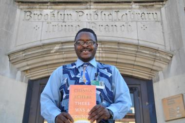 The Cameroon native has become a filmmaker and permanent resident since becoming a librarian.