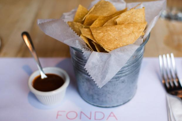 Fonda chef Roberto Santibañez has applied for a new liquor license in the former Beer Table space.