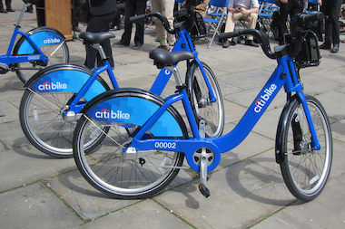 Citi Bikes like these will be hitting the streets on Memorial Day Weekend.