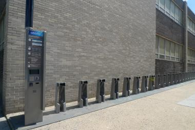 A Citibike station with slots for more than 30 bikes was installed on Dean Street and Fourth Avenue.