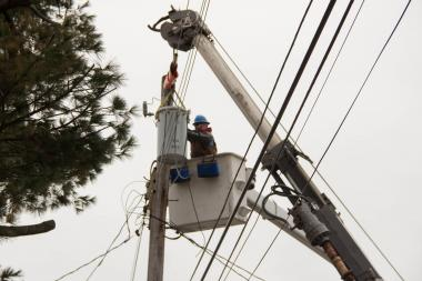 Approximately 4,000 customers in West Brighton were without power on Tuesday, May 21, 2013, a spokesman for Con Edison said.