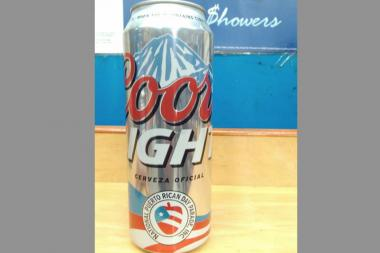 The Coors Light can sparked outrage in the Puerto Rican community.