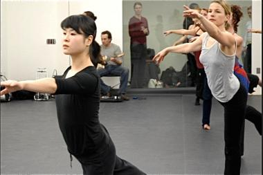 A ballet class at Dance New Amsterdam, a 28-year-old nonprofit that is slated to close after years of financial troubles.