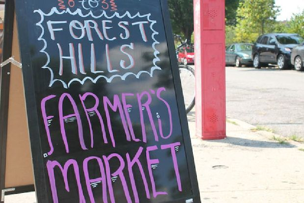 Forest Hills residents can sign a petition in support of having their greenmarket open year round.
