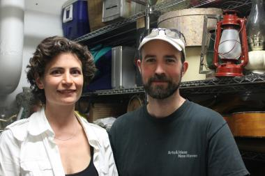 Sandra Goldmark and Michael Banta, the founders of Pop Up Repair, have raised over $9,000 to open the shop for the month of June.