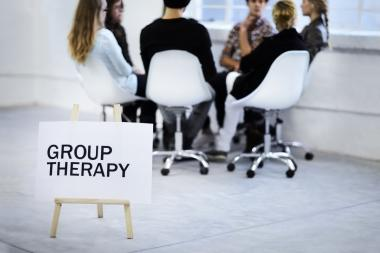 "Group therapy is very popular as it is usually lower cost per session, and tends to be focused around specific topics, such as ""new mothers,"" ""partners of sex and love addicts,"" ""survivors of childhood sexual abuse,"" and so on."