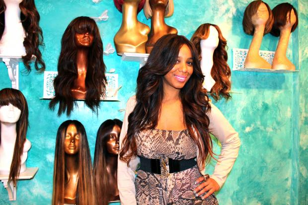 "Hair stylist and entrepreneur Hadiiya Barbel has made hairpieces for Iman, Wendy Williams and Sandy ""Pepa"" Denton. She calls them ""crowns,"" not wigs."