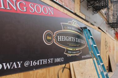 Community Board 12 voted against a proposed 80-seat outdoor cafe for the Heights Tavern.