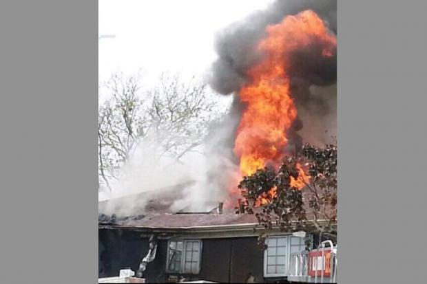HOWARD BEACH - Teresa Pepitone suffered serious burns when her house at 162-39 84th Street in Queens exploded with initial partial collapse. She was rushed to hospital in unknown condition. A gas fed fire then engulfed the structure. An investigation is ongoing.