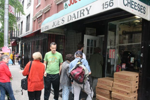 Joe's Dairy cheese shop is closing its doors for good on Sunday due to diminished demand for its product.