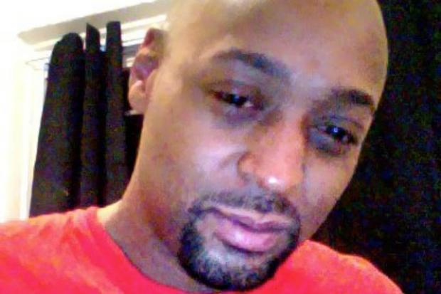 Mark Carson, 32, of Harlem, was shot point-blank in the face Saturday May 18, 2013 after a stranger approached him slinging anti-gay slurs.