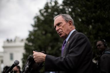 Mayor Michael Bloomberg defended the orgainzer of the Electric Zoo music fest, where two people died from apparent drug-related causes.