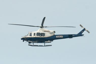 NYPD Aviation sent helicopters to investigate, according to police.
