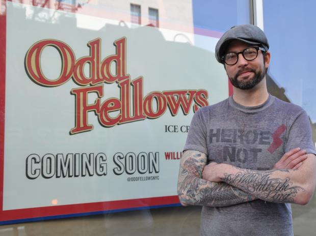 Sam Mason of Empire Mayonnaise is within weeks of opening Odd Fellows Ice Cream.