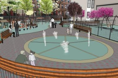 The redesigned Ramon Aponte Park will not have a basketball court, despite pleas from local teens.