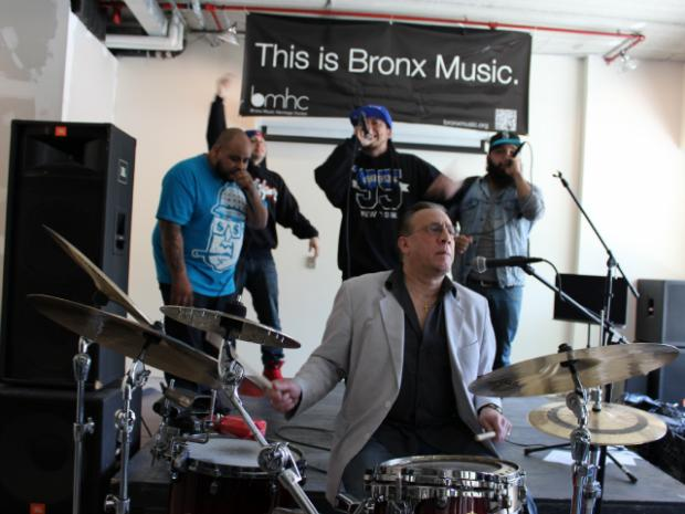 The hip-hop arts group was chosen for a four-month residency at the Bronx Music Heritage Center Lab.