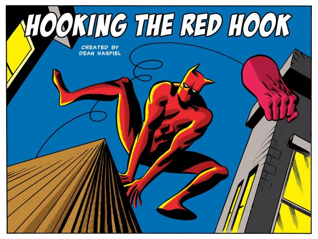 "Dean Haspiel created ""The Red Hook"" and other comic characters based in Brooklyn."
