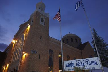 Proceeds from the Greek festival go to support programs at the St. Demetrios School.