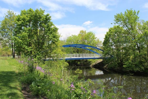 Renovation of the park is complete, but plans to connect it to the Bronx River Greenway have stalled.