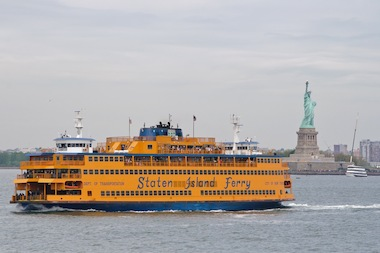 Starting on Friday, May 9, the Staten Island Ferry will run every half-hour on weekends overnights, instead of switching to an hourly schedule.