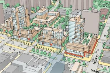 Developers were slated to bid on the 6-acre Lower East Side site on Monday, May 6 2013.