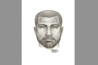 Cops released a sketch of the suspect last week.