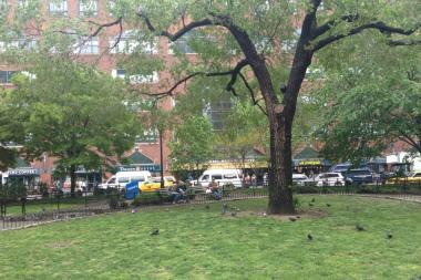 A 23-year-old woman was found dead in Union Square Park, May 9, 2013.