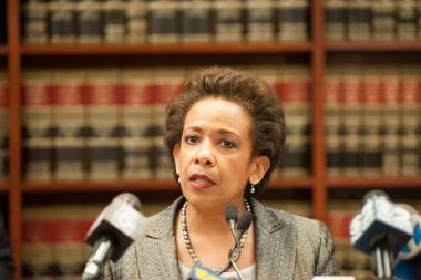 United States Attorney Loretta Lynch was confirmed as the next attorney general Thursday.