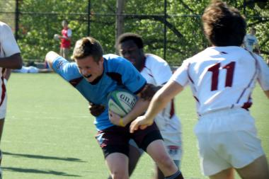 Xavier High School in Manhattan is home to one of the country's top rugby teams.