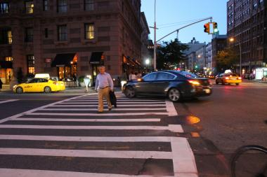 Residents demanded a red turning signal and a longer lead time to cross the street.
