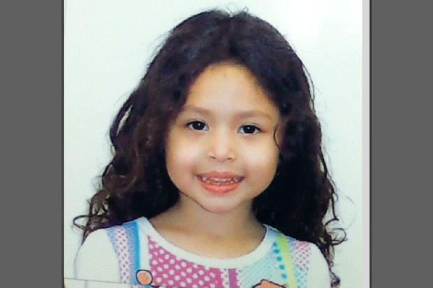 Ariel Russo, 4, was hit by a car that was fleeing from the police Tuesday June 4, 2013.