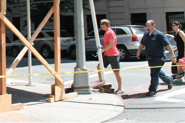 Bill Cowher was involved in a crash took place on the Upper East Side on Sunday, June 23, 2013.